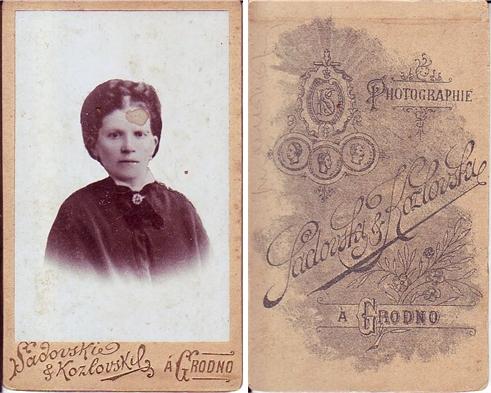 Grodno - Zakład Fotograficzny Sadowski & Kozłowski