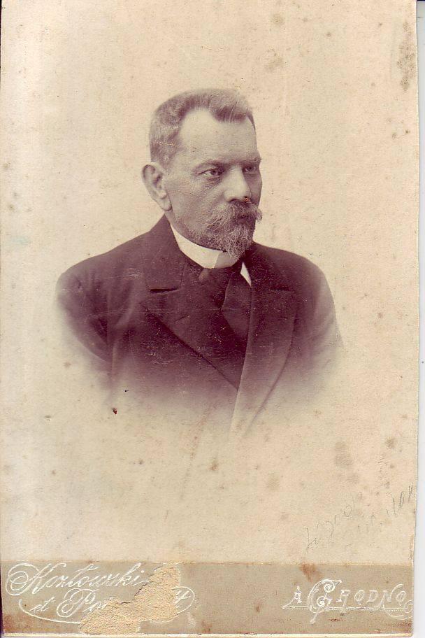 Józef Ejsymont syn Antoniego i Weroniki z domu Józefowicz