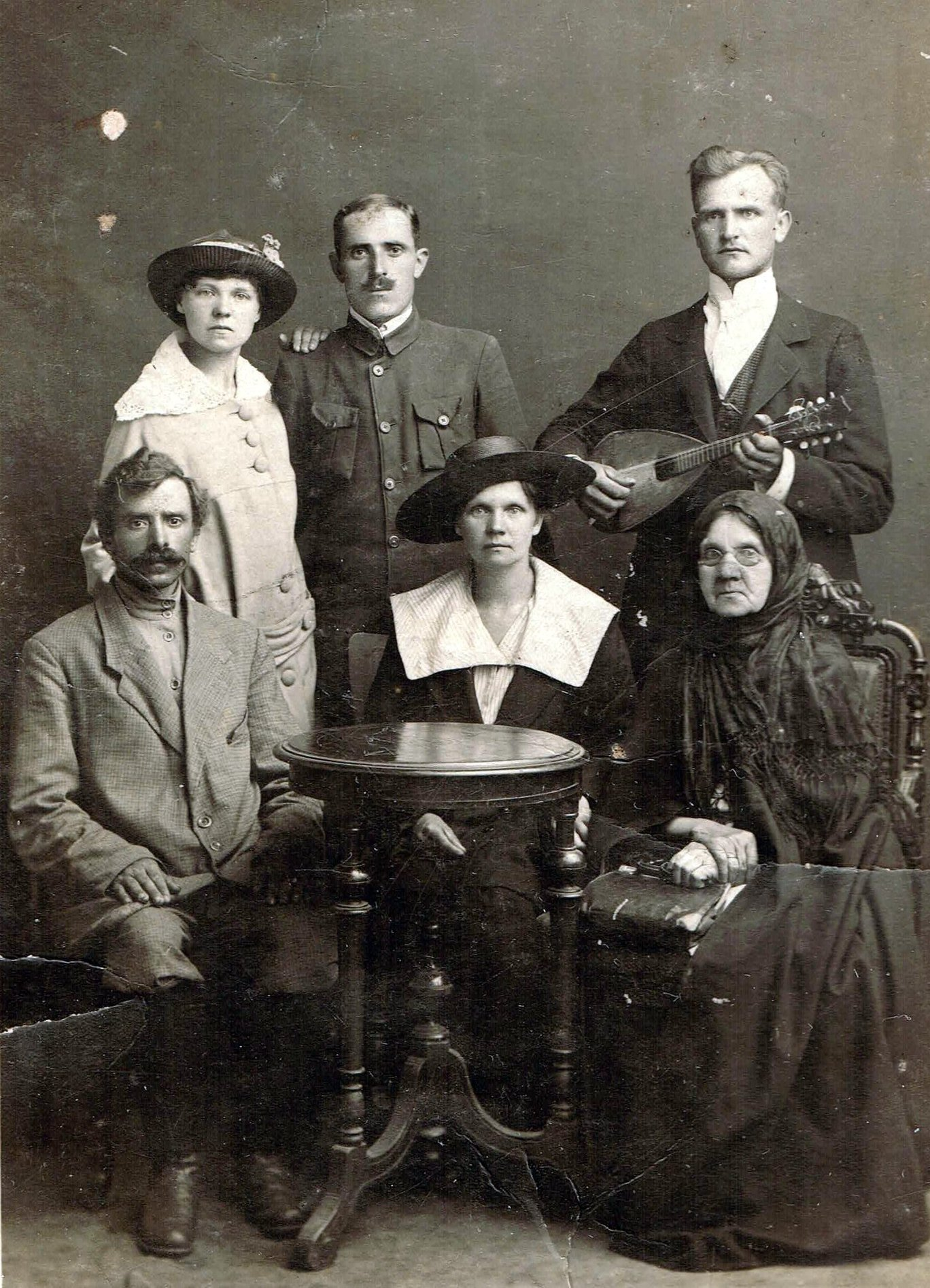 JAGIELNICCY-Helena zd SKOBEJKO i Józef_1910 rok