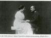Cecylia z Tołłoczków z przyszłym mężem Stefanem Ciszewskim
