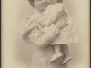 Róża Tołłoczkowa z córką, portret